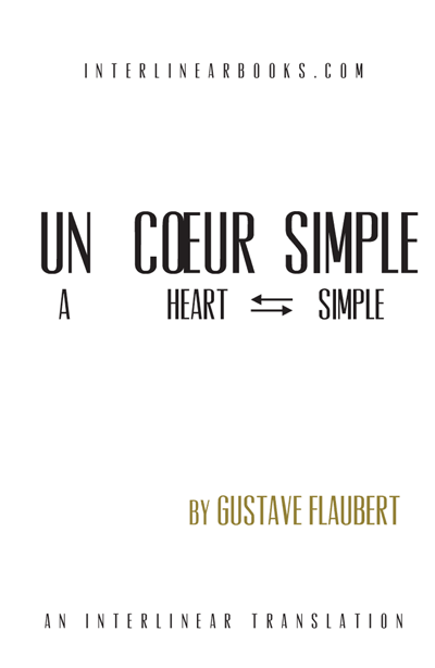French book: Un Cœur Simple
