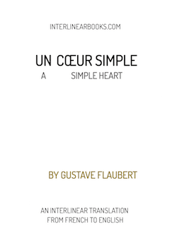 French book: Un cœur simple / A Simple Heart