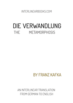 German book: Die Verwandlung / The Metamorphosis