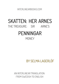 Swedish book: Skatten: Her Arnes Penningar / The Treasure: Sir Arne's Money