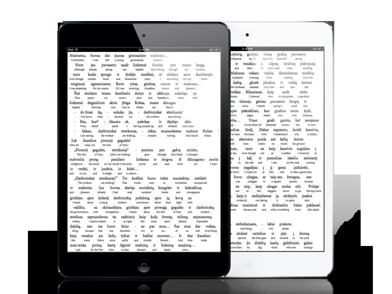 Interlinear Lithuanian Books